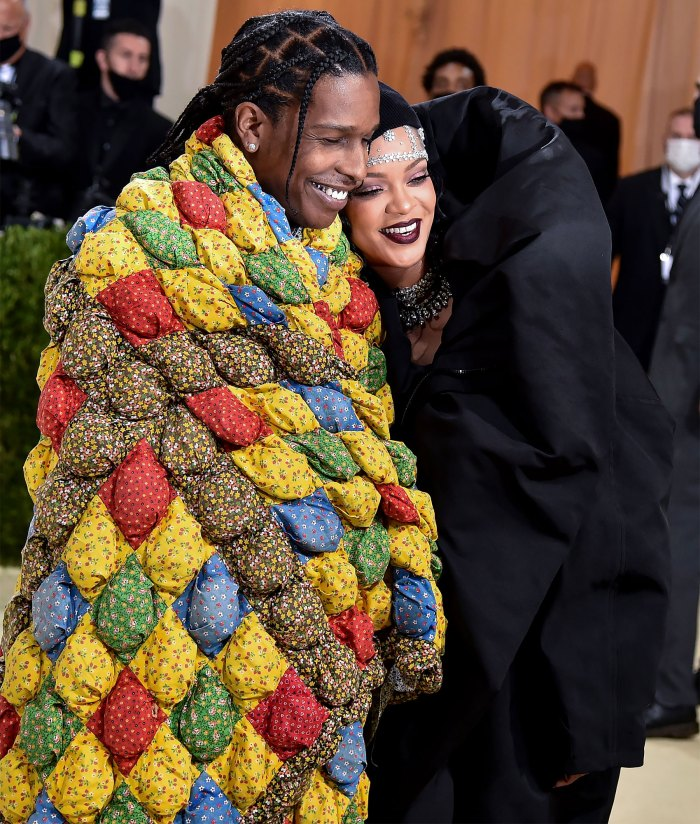 Met Gala 2021 Slay! Rihanna and A$AP Rocky Turns Heads on Met Gala Red Carpet