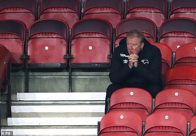 Steve McClaren has been let go by Derby as the club attempts to address its enormous debts