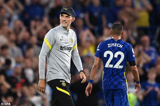 Thomas Tuchel's (left) Chelsea are still unbeaten this season after beating Aston Villa 3-0