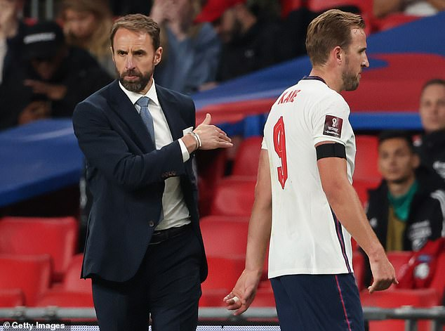 Kane struggled on Tuesday night and was substituted by his manager in the 76th minute