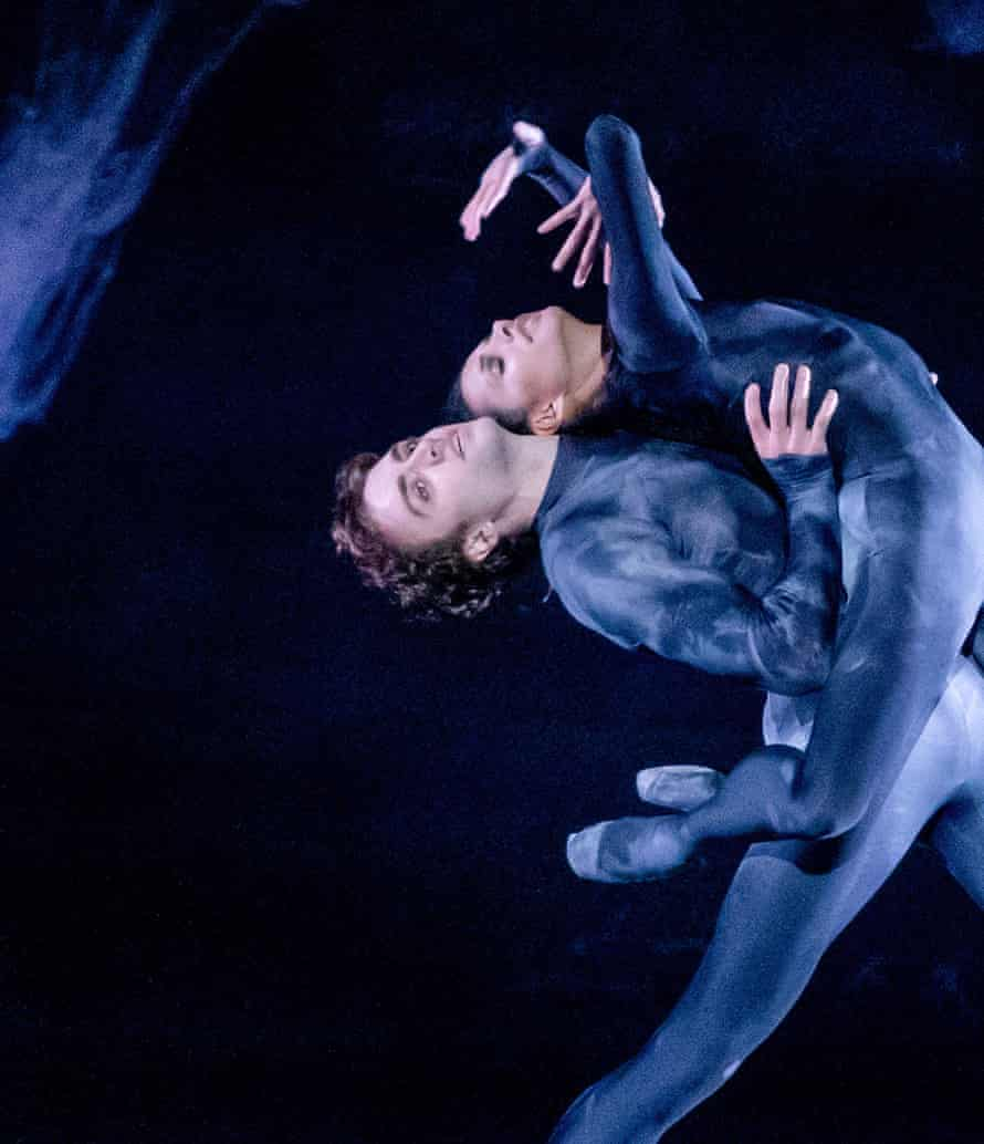 Matthew Ball and Francesca Hayward in The Dante Project.