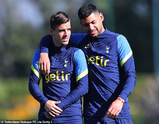 Players like Giovani Lo Celso and Cristian Romero will be free to return and stay at home