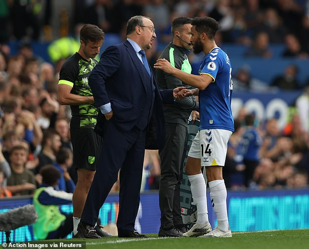 But those fears have been dismissed with Benitez flying at Goodison Park since appointed