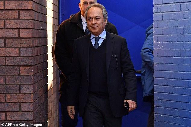 Benitez has hailed Everton majority shareholderFarhadMoshiri for his ambitious club project