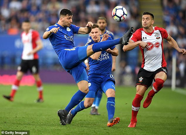 Dragovic spent the 2017-18 season on loan at the Foxes and has a fond memory of Jamie Vardy