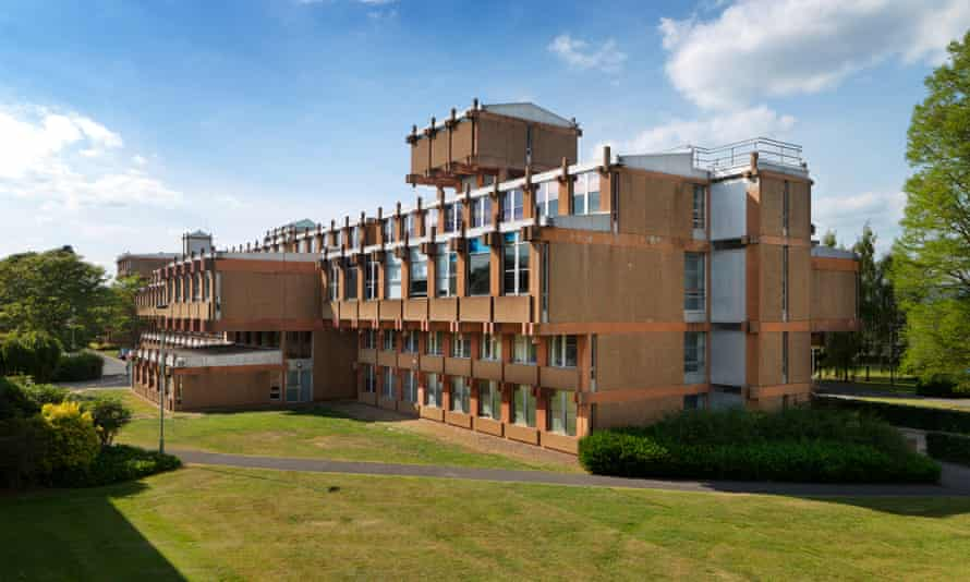 The faculty of urban and regional studies, Reading University, 1970-73, where Stanley Amis's expertise in precast concrete was put to use.