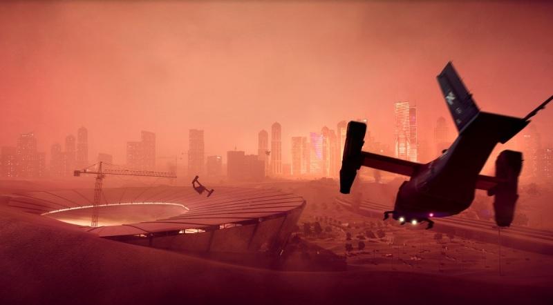 One of Battlefield 2042's maps.