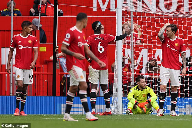 However, United have offered lacklustre displays and have won one point from two games