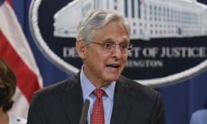 Attorney General Merrick Garland announces a lawsuit to block the enforcement of a new Texas law that bans most abortions in September.
