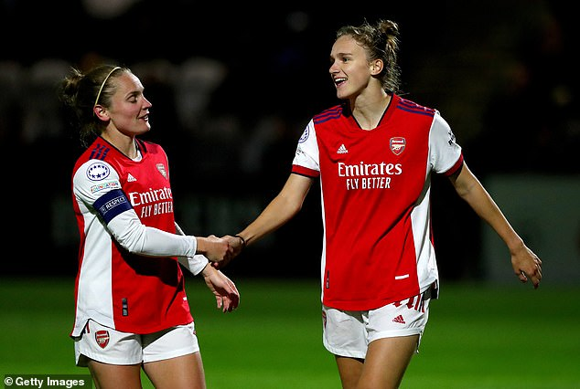 Vivianne Miedema has now netted 24 times in her last 17 UEFA competition appearances