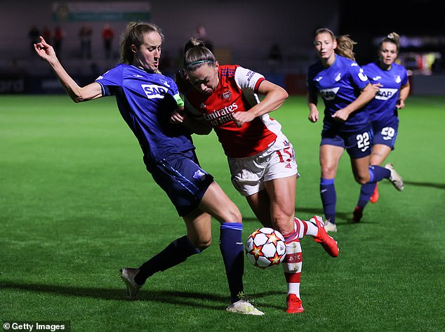 Miedema andMcCabe (above) were both responsible for providing assists on Thursday night