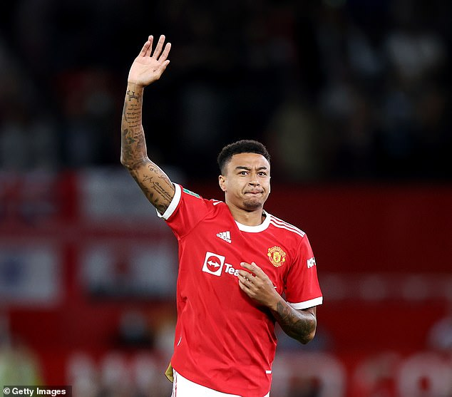 Jesse Lingard may wave goodbye to Manchester United next summer when his deal expires