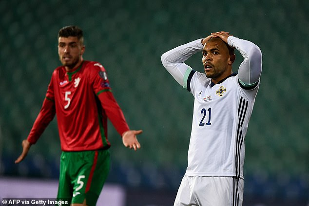 Northern Ireland have been leapfrogged in their World Cup qualifying group by Bulgaria