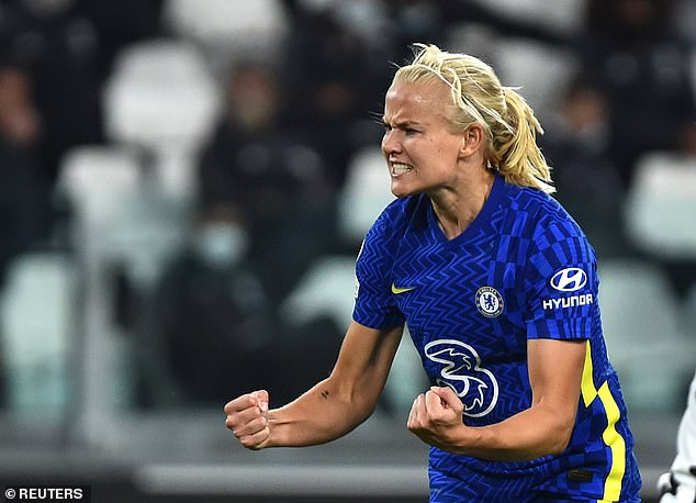 Pernille Harder's 69th minute goal gave Chelsea the win over Juventus on Wednesday night