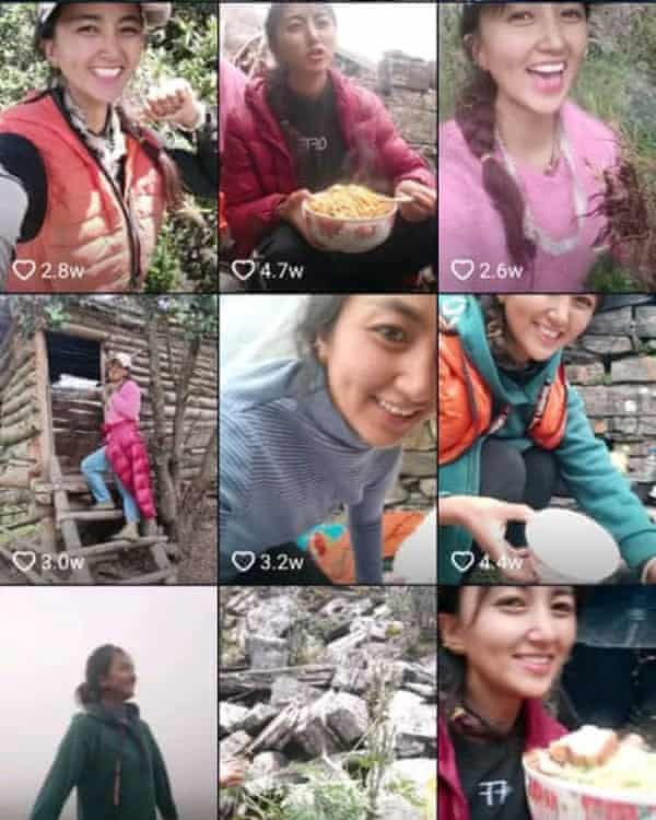 Lhamo had hundreds of thousands of followers on China's version of TikTok