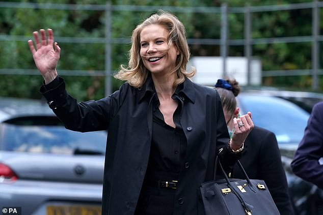 Newcastle were not included in an extraordinary Premier League meeting regarding their £305m Saudi takeover. Pictured isAmanda Staveley, who is part of the new ownership group
