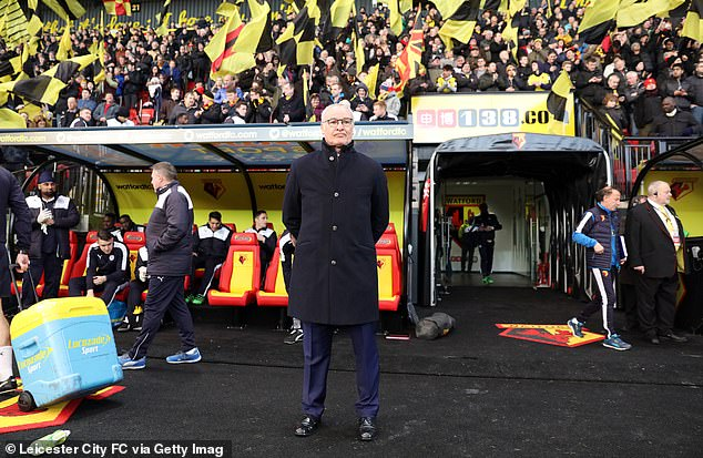 Claudio Ranieri will take charge of his first match as Watford manager on Saturday lunchtime