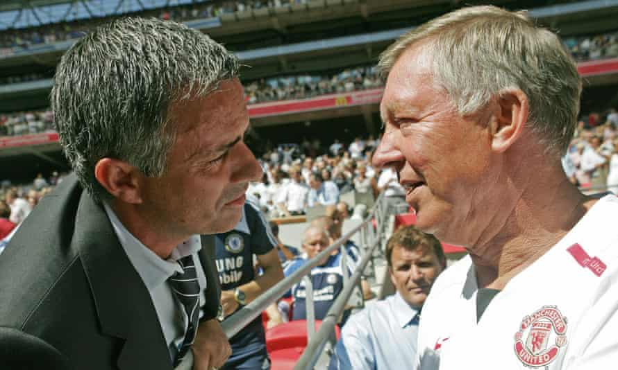 Even the great managers such as José Mourinho (left) and Sir Alex Ferguson, pictured here in 2007, have been sacked.