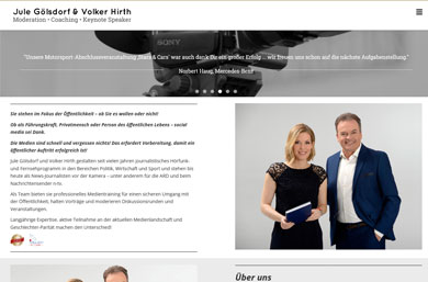 Jule Gölsdorf & Volker Hirth