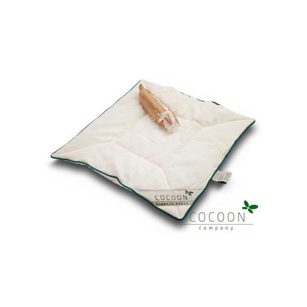 100% Ekologisk kudde av bomull och kapok