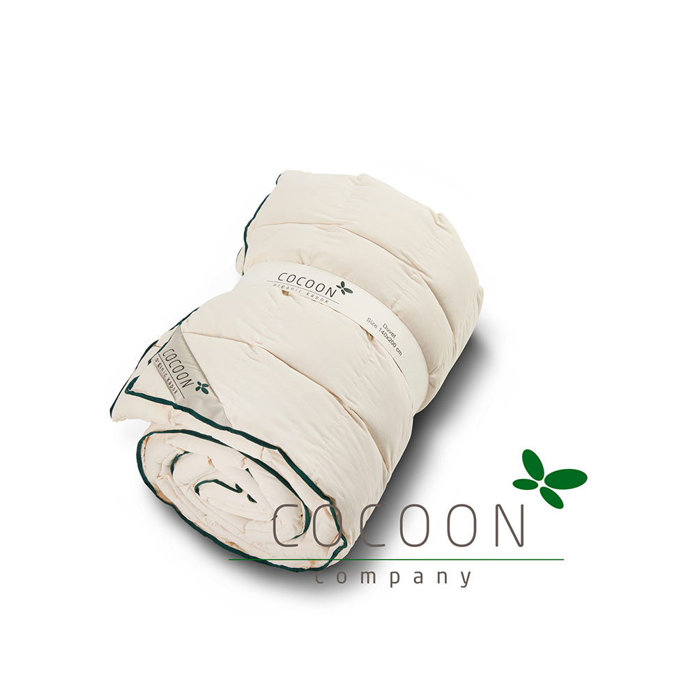 Ekologiskt täcke av bomull och kapok