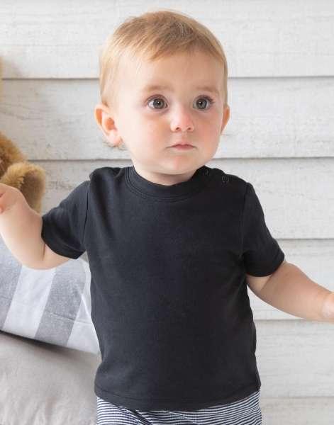 Baby t-shirt BZ02 zwart