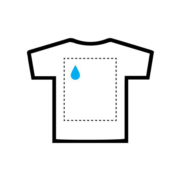 Shirt back 1 kleur