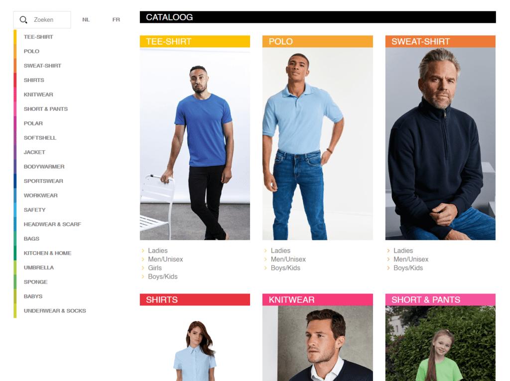 Online Catalogus Ultrawear