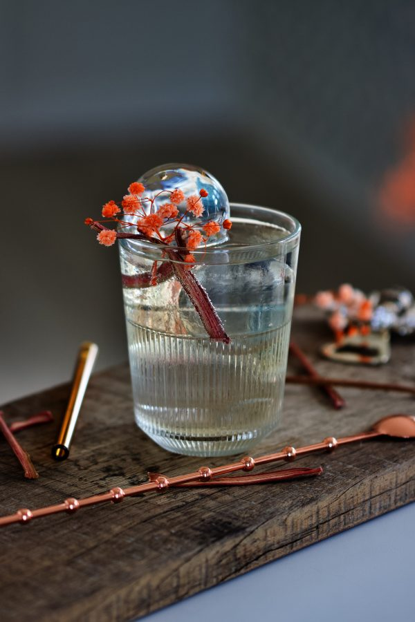 Cocktail rabarber hyldeblomst