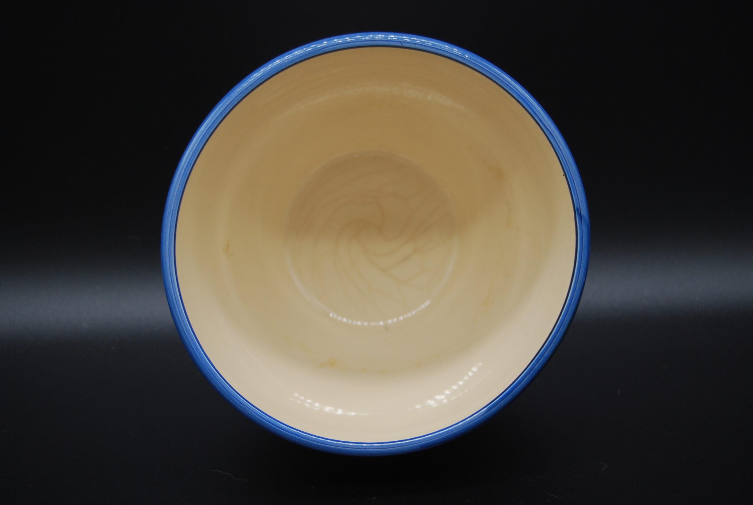 Bloempot blauwwit 4
