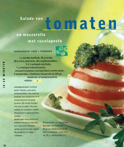 Salades - AH eetboekenreeks-Tomatensalade