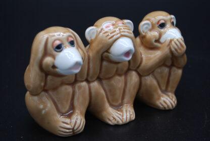 Horen,zien,zwijgen aapjes 1