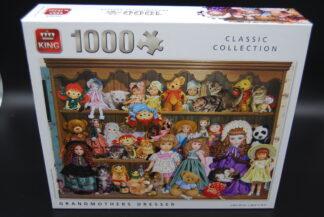 Legpuzzel King 1000 stukjes Grandmothers Dresser 1