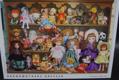 Legpuzzel King 1000 stukjes Grandmothers Dresser 2