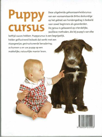 Puppycursus, in zeven stappen naar een ideale pup (achterkant)
