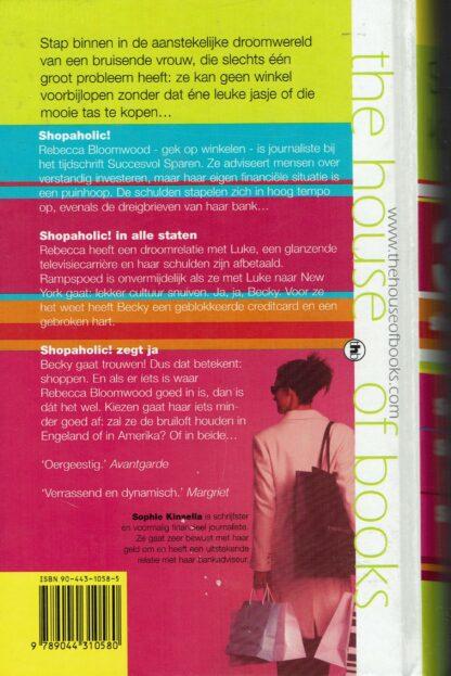 3x Shopaholic - Sophie Kinsella (achterkant)