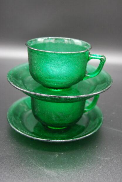 Arcoroc Sierra groen kop en schotel 3