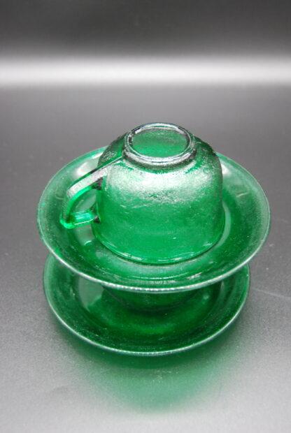 Arcoroc Sierra groen kop en schotel 4