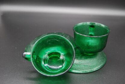 Arcoroc Sierra groen kop en schotel 7