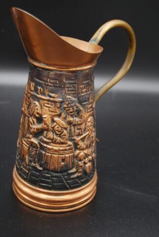 Tavernekruik koper (coal scutlle bucket)