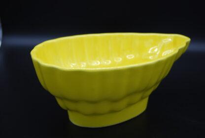 Vintage puddingvorm geel 6