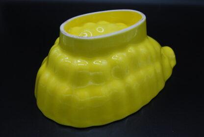 Vintage puddingvorm geel 11