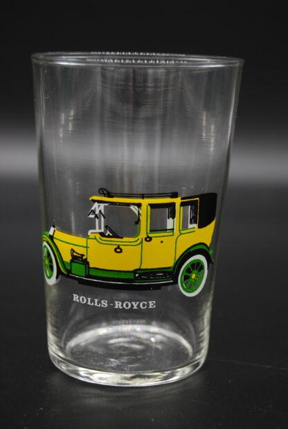 drinkglas met oldtimer Rolls Royce 2