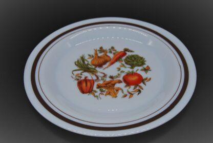 Arcopal bord groente motief