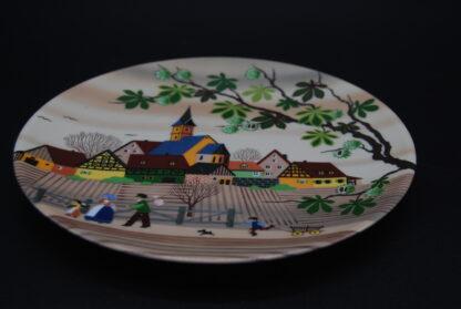 Barbara Furstenhofer collectors plate