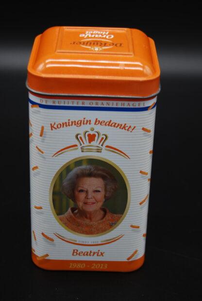 Blik Koningin bedankt Beatrix 1980-2013