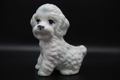 Bloempotje hond vintage
