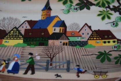 Herbst in Franken collectors plate