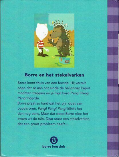 Jeroen Aalbers-Borre en het stekelvarken