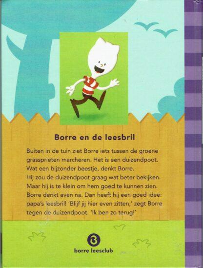 Kinderboek groep 1-2, Borre en de leesbril